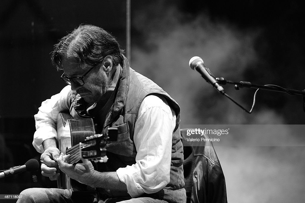 Al Di Meola performs during Torino Jazz Festival at Piazza Castello on April 27 2014 in Turin Italy