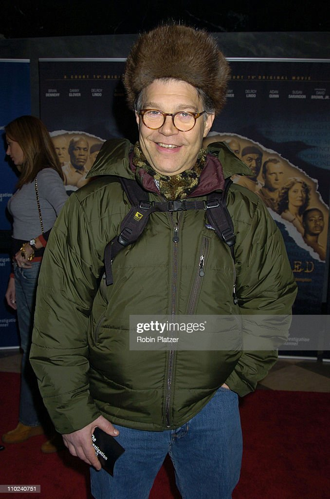 <a gi-track='captionPersonalityLinkClicked' href=/galleries/search?phrase=Al+Franken&family=editorial&specificpeople=167079 ng-click='$event.stopPropagation()'>Al Franken</a> during Court TV's Original Movie 'The Exonerated' New York City Premiere at Museum of Television and Radio in New York City, New York, United States.