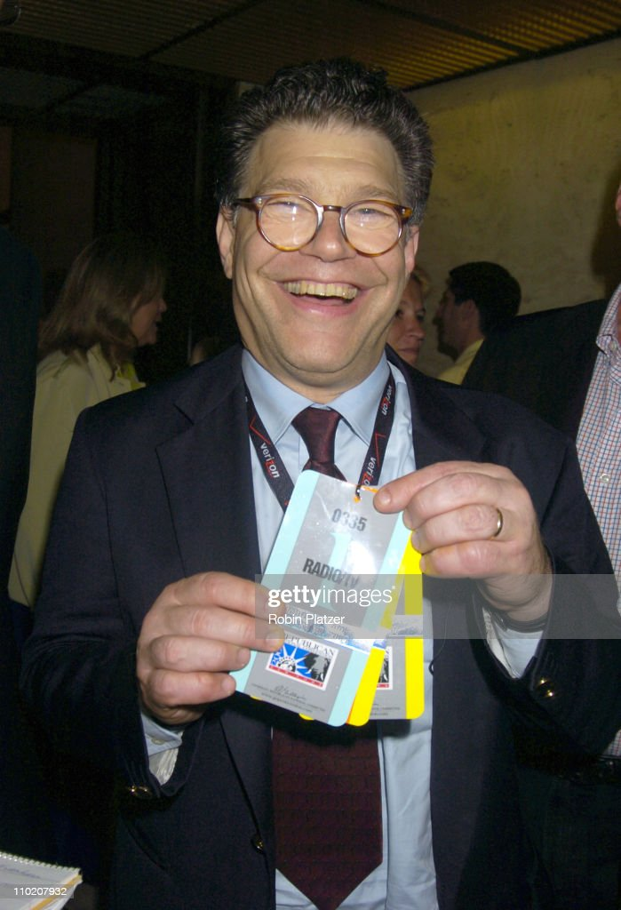 <a gi-track='captionPersonalityLinkClicked' href=/galleries/search?phrase=Al+Franken&family=editorial&specificpeople=167079 ng-click='$event.stopPropagation()'>Al Franken</a> during Newsweek Party for The Republican Convention Given by Lally Weymouth at The Four Seasons Restaurant in New York, New York, United States.