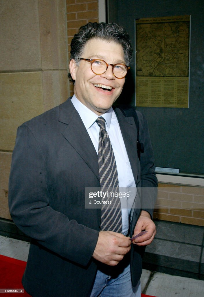 <a gi-track='captionPersonalityLinkClicked' href=/galleries/search?phrase=Al+Franken&family=editorial&specificpeople=167079 ng-click='$event.stopPropagation()'>Al Franken</a> during THE WEEK Magazine hosts Premiere of 'The Hunting of the President' - Arrivals at Skirball Center for the Performing Arts in New York City, New York, United States.