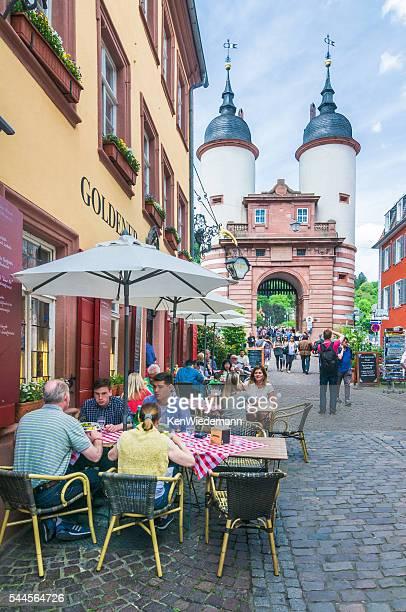 Al Fresco in Heidelberg