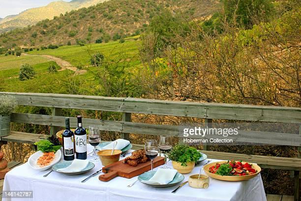 Al Fresco Lunch Table Chile