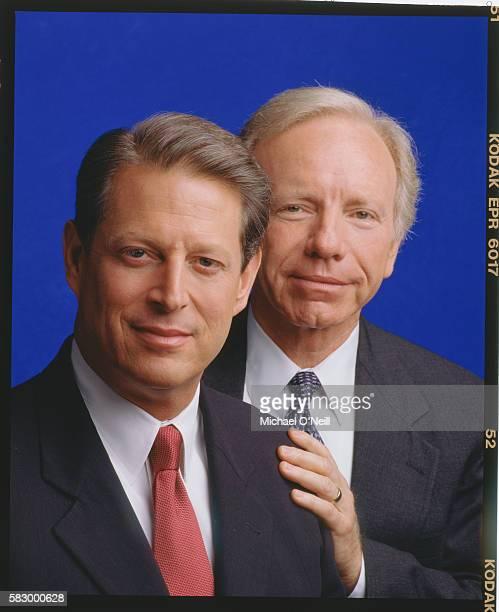 Al Gore and Joe Lieberman