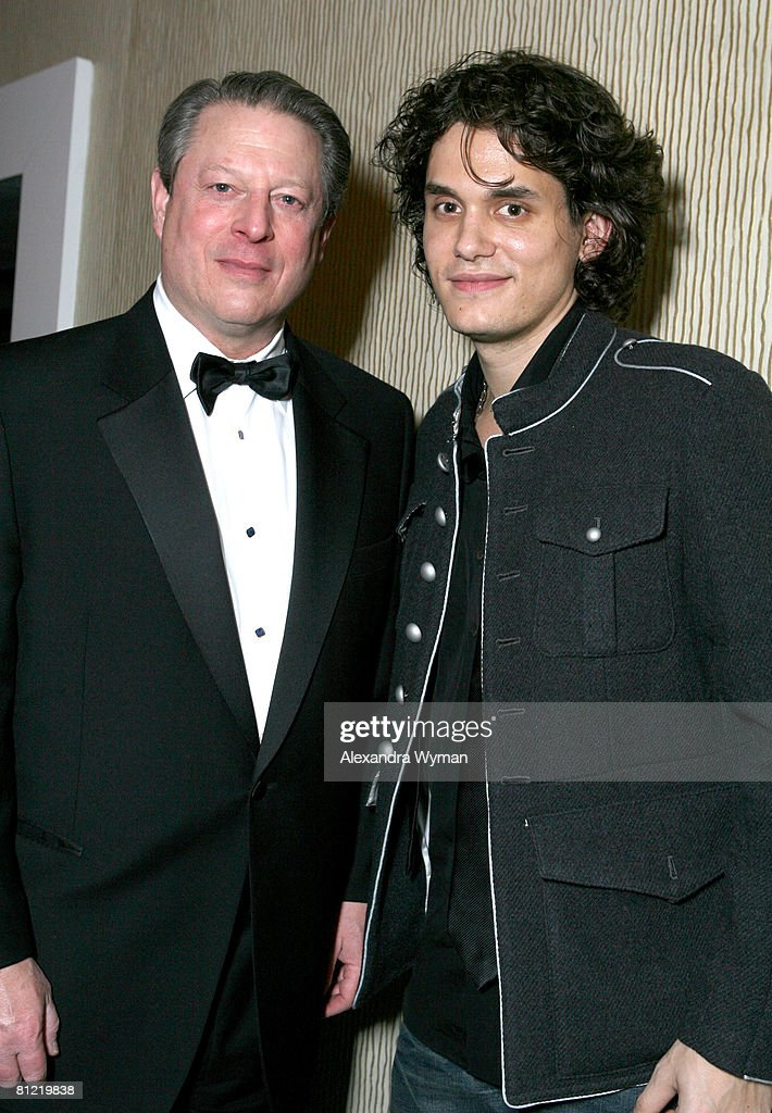 Al Gore and John Mayer *EXCLUSIVE*