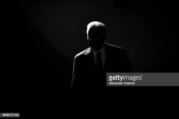 Al Gore arrives at the 'A conversation with' event during the 13th Zurich Film Festival on October 8 2017 in Zurich Switzerland The Zurich Film...