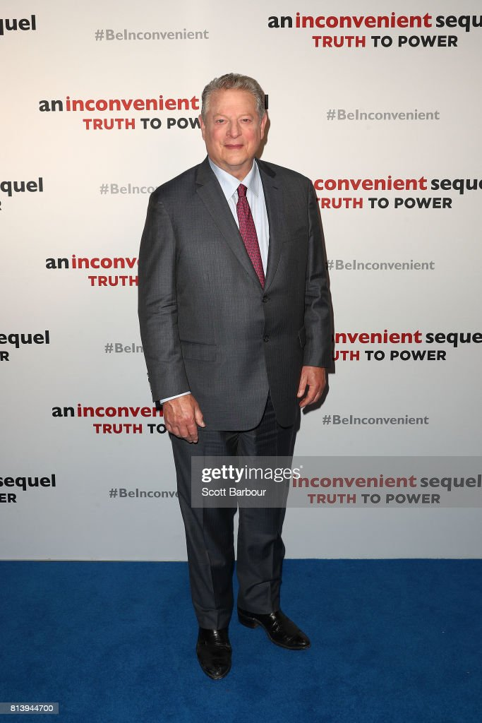 Al Gore attends a special screening of 'An Inconvenient Sequel: Truth to Power' at ACMI on July 13, 2017 in Melbourne, Australia.