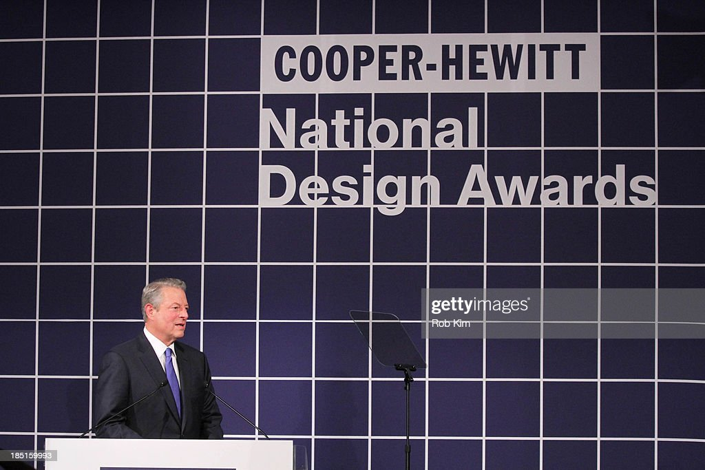 <a gi-track='captionPersonalityLinkClicked' href=/galleries/search?phrase=Al+Gore&family=editorial&specificpeople=119691 ng-click='$event.stopPropagation()'>Al Gore</a> attends the 2013 Cooper-Hewitt National Design Awards at Pier 60 on October 17, 2013 in New York City.