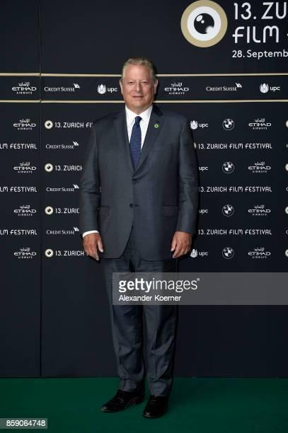 Al Gore attends the 'An Inconvenient Sequel' premiere at the 13th Zurich Film Festival on October 8 2017 in Zurich Switzerland The Zurich Film...