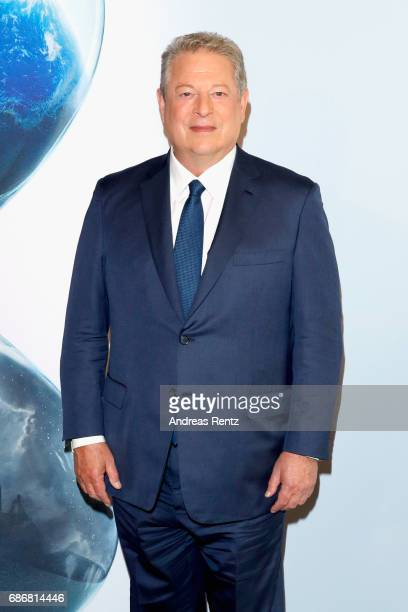 Al Gore attends the 'An Inconvenient Sequel Truth To Power' press conference during the 70th annual Cannes Film Festival on May 22 2017 in Cannes...