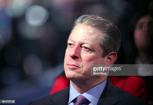 Al Gore former vice president of the US listens during the opening ceremony of the high level segment of the COP15 United Nations Climate Change...