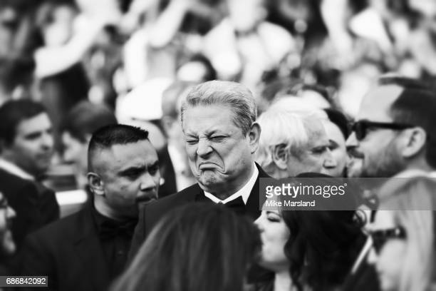 Al Gore of 'An Inconvenient Sequel Truth to Power' during the 70th annual Cannes Film Festival at on May 22 2017 in Cannes France