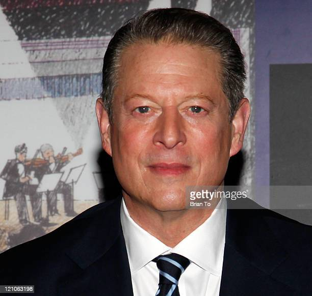 Al Gore presents and signs copies of 'Our Choice' at Saban Theater on November 12 2009 in Beverly Hills California