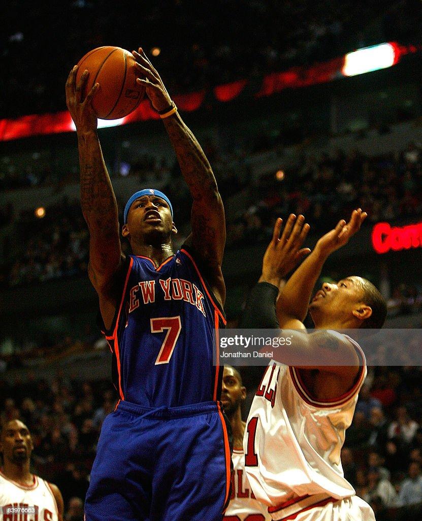 New York Knicks v Chicago Bulls s and