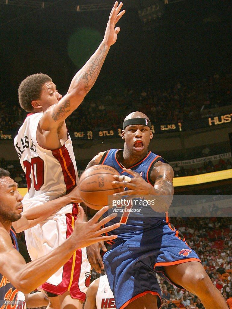 New York Knicks v Miami Heat s and