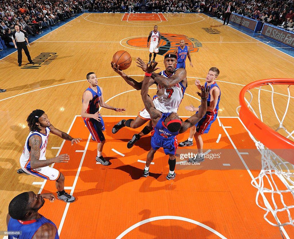 Detroit Pistons v New York Knicks s and