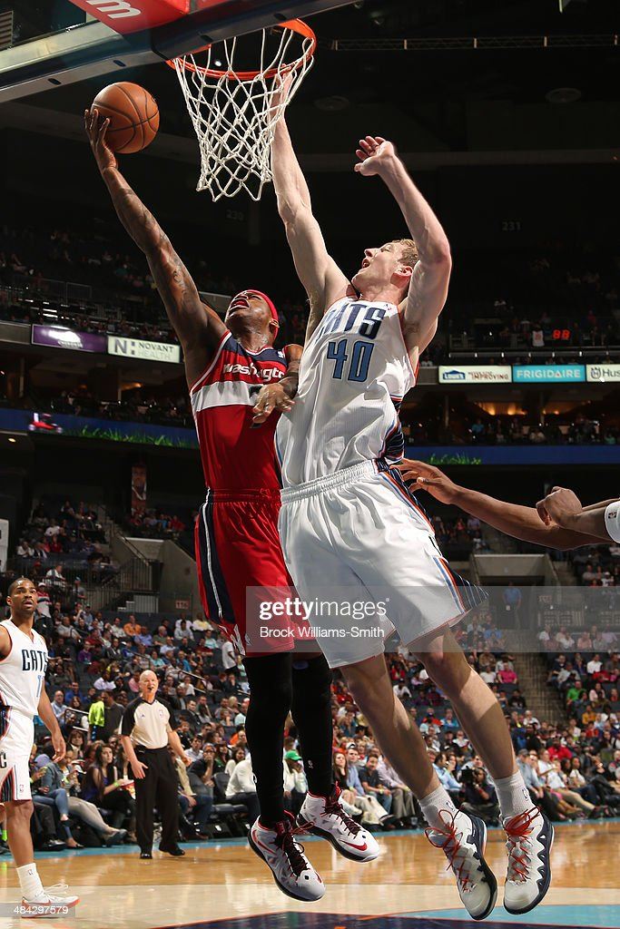 <a gi-track='captionPersonalityLinkClicked' href=/galleries/search?phrase=Al+Harrington&family=editorial&specificpeople=201645 ng-click='$event.stopPropagation()'>Al Harrington</a> #7 of the Washington Wizards goes up for a shot against the Charlotte Bobcats during the game at the Time Warner Cable Arena on March 31, 2014 in Charlotte, North Carolina.