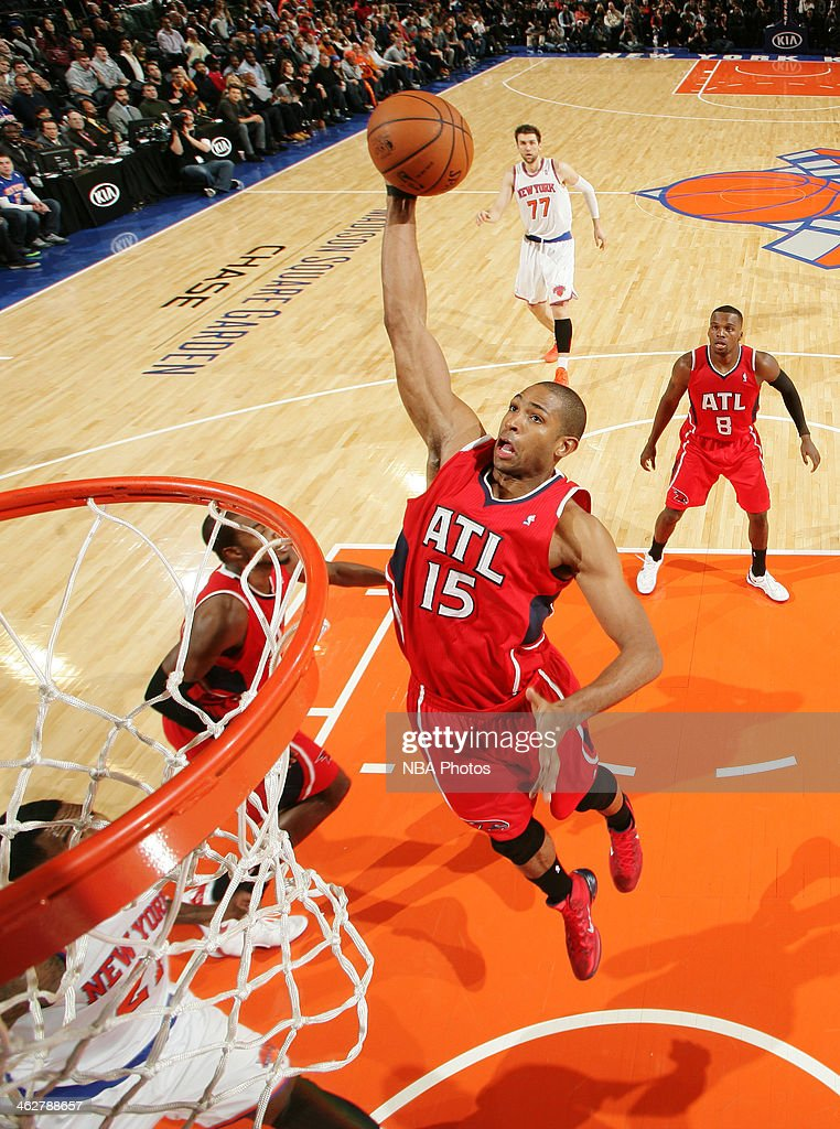 <a gi-track='captionPersonalityLinkClicked' href=/galleries/search?phrase=Al+Horford&family=editorial&specificpeople=699030 ng-click='$event.stopPropagation()'>Al Horford</a> #15 of the Atlanta Hawks rebounds against the New York Knicks at Madison Square Garden in New York City.