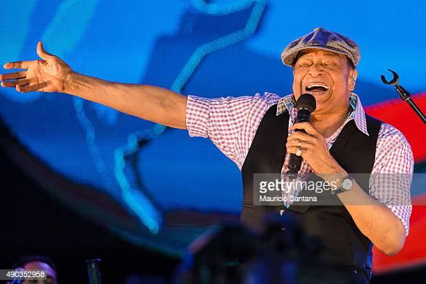 Al Jarreau performs at 2015 Rock in Rio on September 27 2015 in Rio de Janeiro Brazil