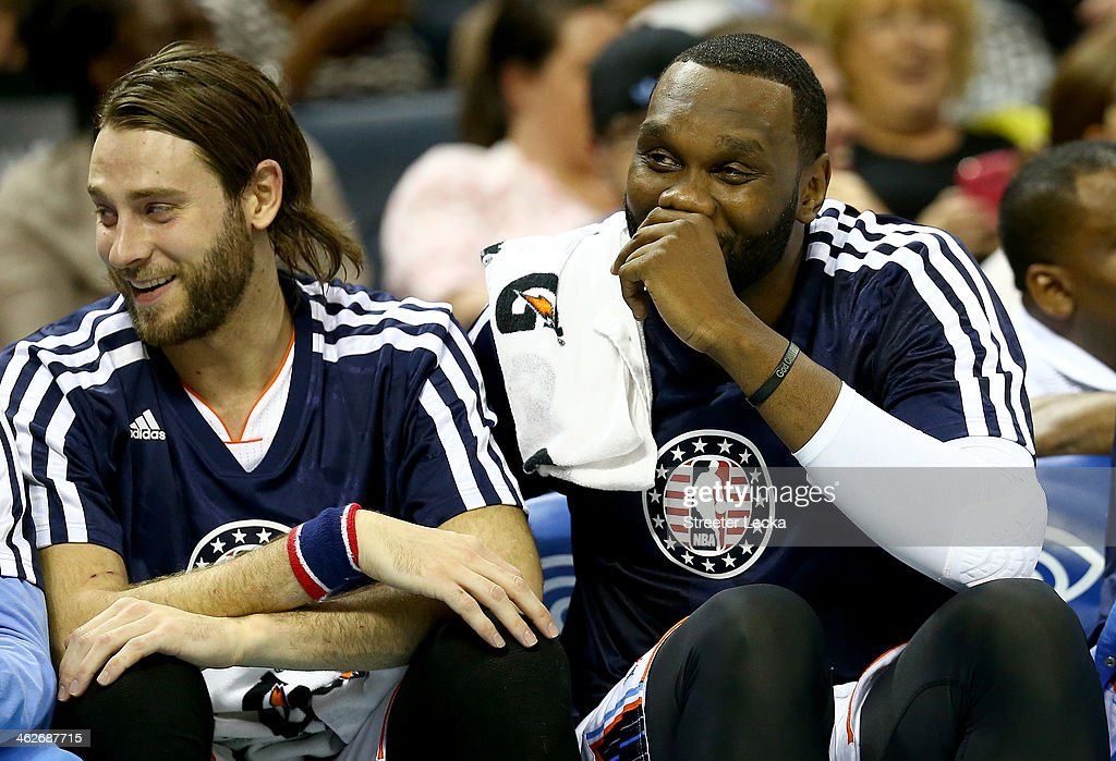 <a gi-track='captionPersonalityLinkClicked' href=/galleries/search?phrase=Al+Jefferson&family=editorial&specificpeople=201604 ng-click='$event.stopPropagation()'>Al Jefferson</a> #25 of the Charlotte Bobcats during their game at Time Warner Cable Arena on November 11, 2013 in Charlotte, North Carolina.