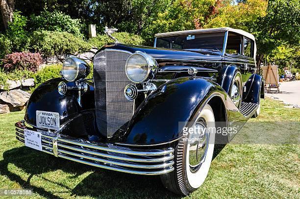 Al Jolson's V-16 Cadillac