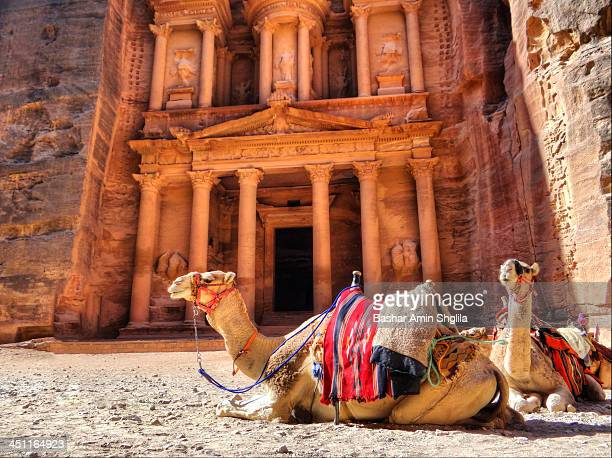 CONTENT] Al Khazneh or The Treasury is one of the most elaborate temples in the ancient Jordanian city of Petra As with most of the other buildings...