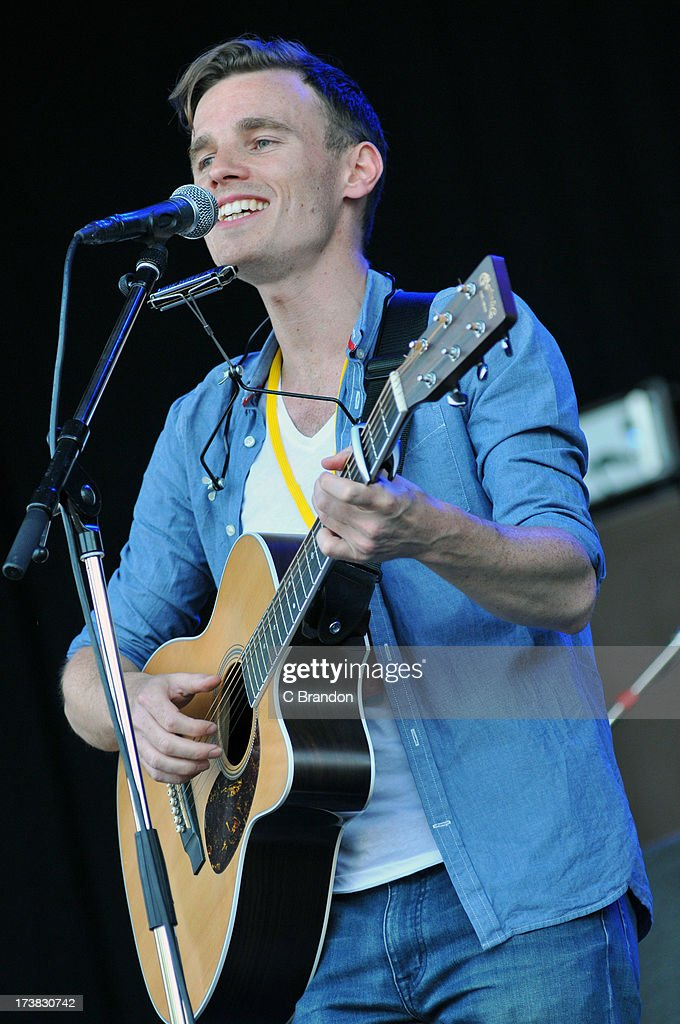 Al Lewis performs on stage at Kew Gardens on July 12, 2013 in London, England.
