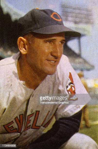 Al Lopez poses for a close up portrait before a game circa1953 at Yankee Stadium in New York City