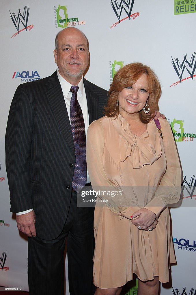 Al Manzo and <a gi-track='captionPersonalityLinkClicked' href=/galleries/search?phrase=Caroline+Manzo&family=editorial&specificpeople=5841102 ng-click='$event.stopPropagation()'>Caroline Manzo</a> attend the Superstars For Sandy Relief at Cipriani Wall Street on April 4, 2013 in New York City.