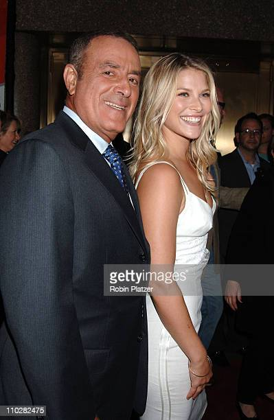Al Michaels and Ali Larter during NBC 20062007 Primetime Upfront at Radio City Music Hall in New York City New York United States