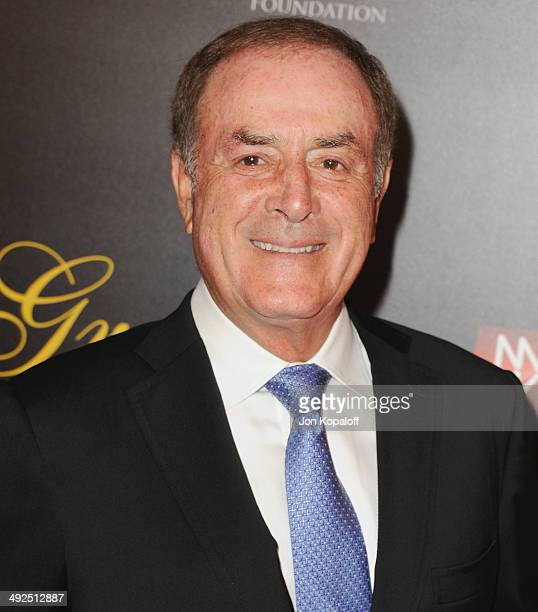 Al Michaels arrives at the 39th Annual Gracie Awards at The Beverly Hilton Hotel on May 20 2014 in Beverly Hills California