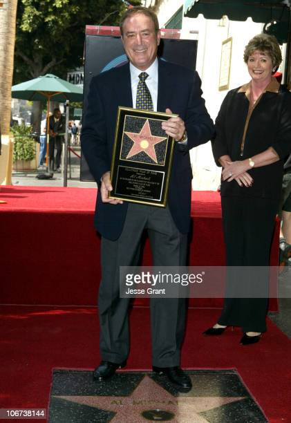 Al Michaels during Al Michaels Honored with a Star on the Hollywood Walk of Fame for His Achievements in Television at 6663 Hollywood Blvd in...