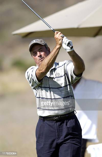 Al Michaels during The 2002 ESPY Awards Celebrity Golf Classic at Lost Canyon Golf Club in Simi Valley California United States