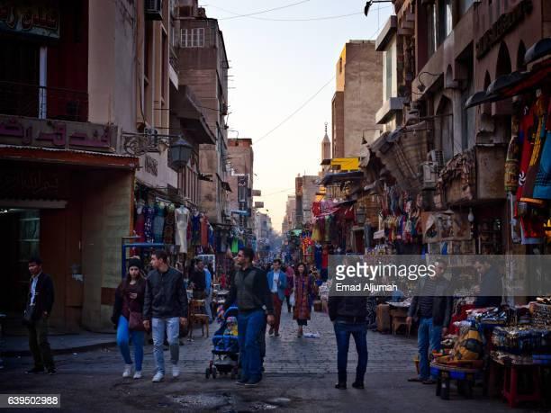 Al Muizz Street in Islamic Cairo, Egypt