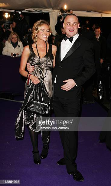 Al Murray and guest arrives at the British Comedy Awards 2007 at the London Television Studios on December 5 2007 in London England