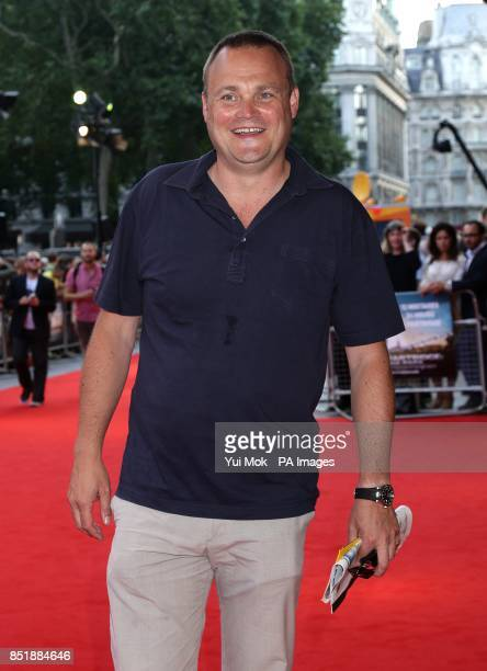 Al Murray arriving for the premiere of Alan Partridge Alpha Papa at the Vue West End in Leicester Square central London