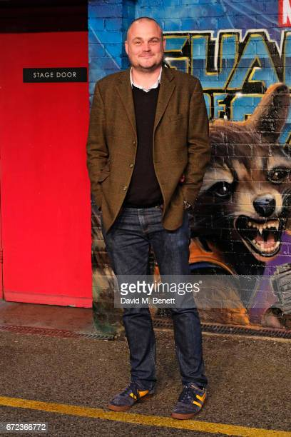 Al Murray attends the European Gala screening of 'Guardians of the Galaxy Vol 2' at the Eventim Apollo on April 24 2017 in London United Kingdom