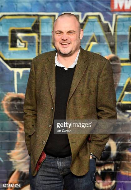 Al Murray attends the European launch event of Marvel Studios' 'Guardians of the Galaxy Vol 2' at the Eventim Apollo on April 24 2017 in London...