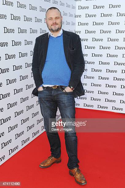 Al Murray attends the UK screening of 'Hoff The Record' at The Empire Leicester Square on May 20 2015 in London England