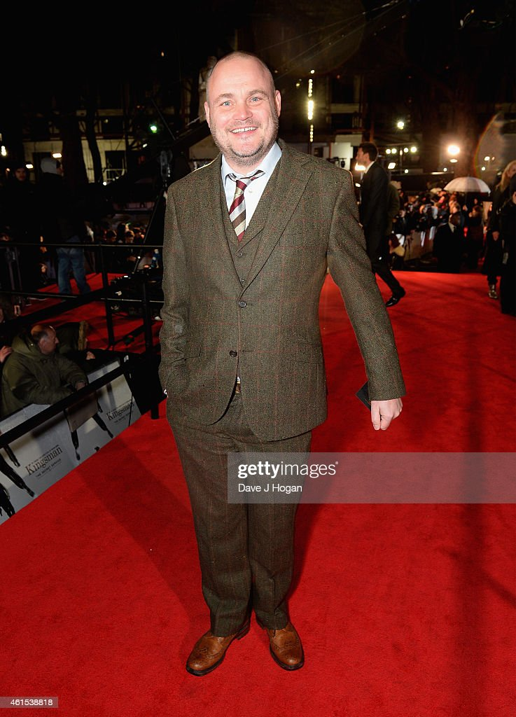 Al Murray attends the World Premiere of 'Kingsman The Secret Service' at the Odeon Leicester Square on January 14 2015 in London England