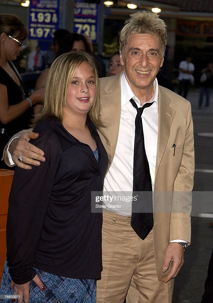 Al Pacino and daughter Julie at the National Theatre in Westwood, California