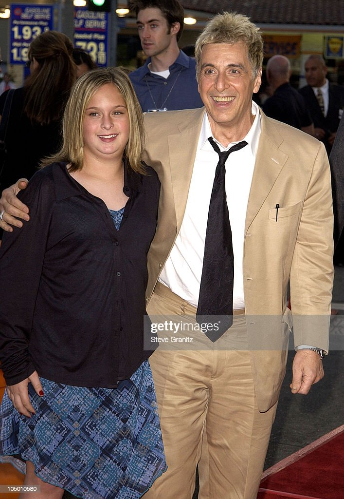 Al Pacino and daughter Julie during 'Simone' - Los Angeles Premiere at National Theatre in Westwood, California, United States.