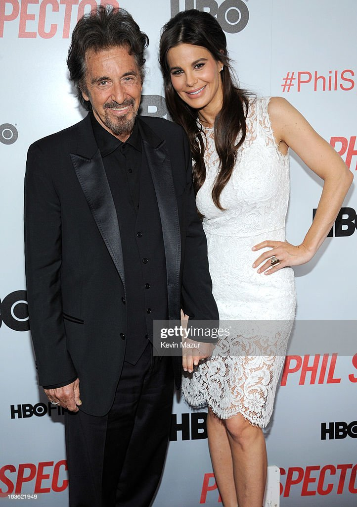 <a gi-track='captionPersonalityLinkClicked' href=/galleries/search?phrase=Al+Pacino&family=editorial&specificpeople=202658 ng-click='$event.stopPropagation()'>Al Pacino</a> and Lucia Sola attend HBO Films' 'Phil Spector' premiere at the Time Warner Center on March 13, 2013 in New York City.