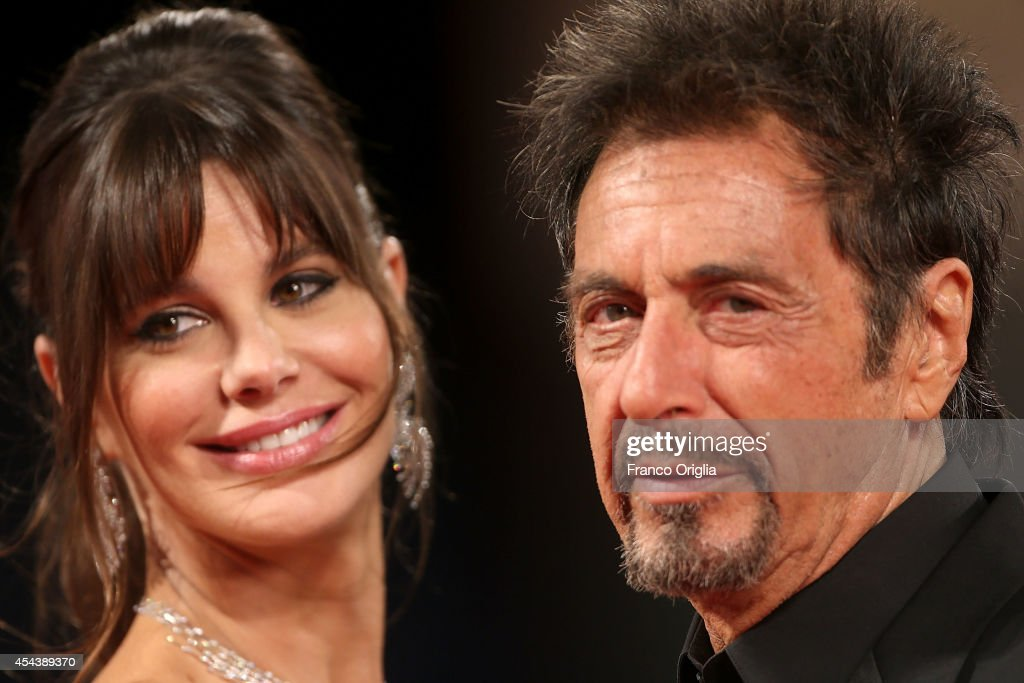 <a gi-track='captionPersonalityLinkClicked' href=/galleries/search?phrase=Al+Pacino&family=editorial&specificpeople=202658 ng-click='$event.stopPropagation()'>Al Pacino</a> and <a gi-track='captionPersonalityLinkClicked' href=/galleries/search?phrase=Lucila+Sola&family=editorial&specificpeople=6898117 ng-click='$event.stopPropagation()'>Lucila Sola</a> attend the 'The Humbling' Premiere during the 71st Venice Film Festival on August 30, 2014 in Venice, Italy.