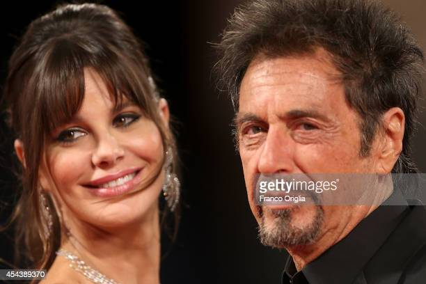Al Pacino and Lucila Sola attend the 'The Humbling' Premiere during the 71st Venice Film Festival on August 30 2014 in Venice Italy