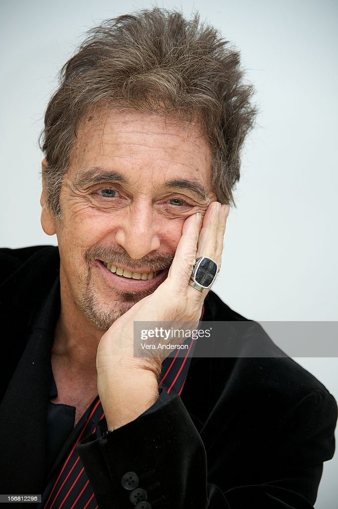 Al Pacino at the 'Stand Up Guys' Press Conference at the Four Seasons Hotel on November 20 2012 in Beverly Hills California