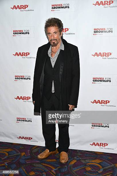 Al Pacino attends AARP's 2nd Annual Movies For Grownups Film Showcase 'The Humbling' at Regal Cinemas LA Live on November 6 2014 in Los Angeles...