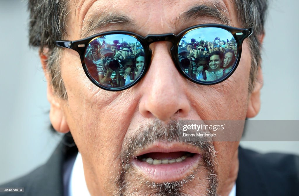 <a gi-track='captionPersonalityLinkClicked' href=/galleries/search?phrase=Al+Pacino&family=editorial&specificpeople=202658 ng-click='$event.stopPropagation()'>Al Pacino</a> attends 'Manglehorn' Premiere during the 71st Venice Film Festival at Sala Grande on August 30, 2014 in Venice, Italy.