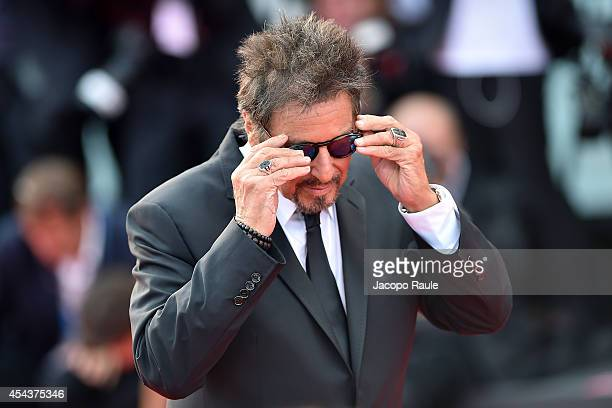 Al Pacino attends 'Manglehorn' Premiere during the 71st Venice Film Festival at Sala Grande on August 30 2014 in Venice Italy