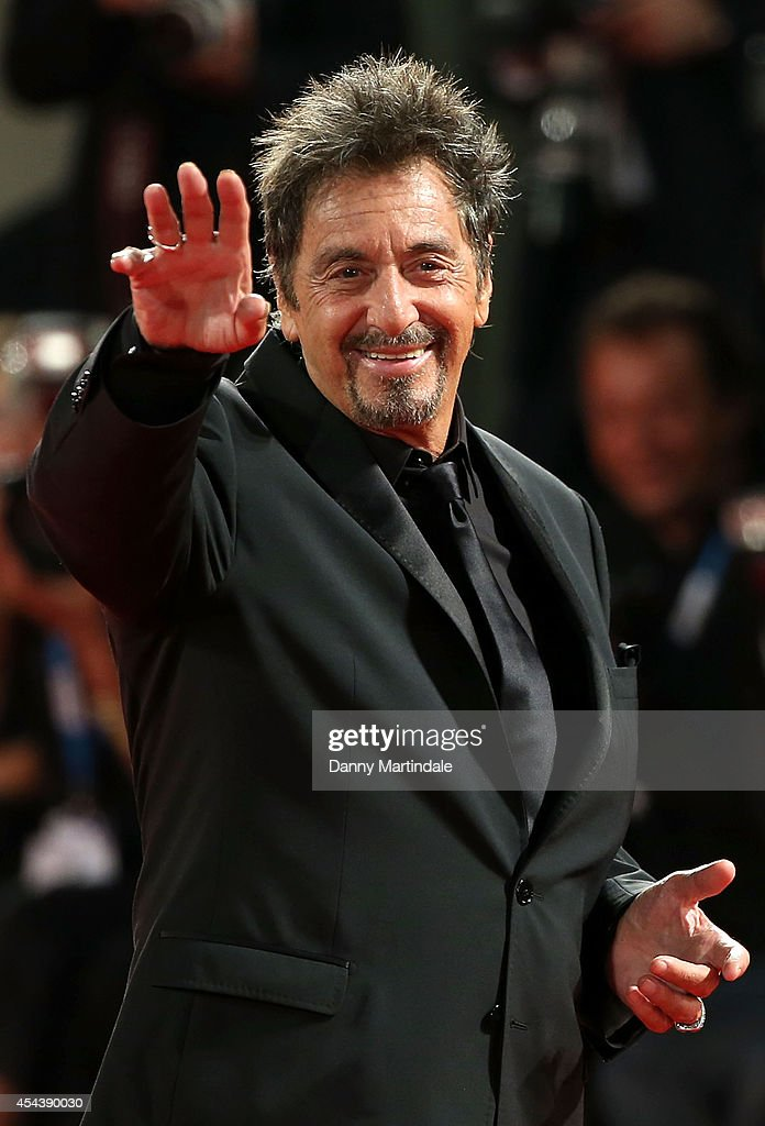 <a gi-track='captionPersonalityLinkClicked' href=/galleries/search?phrase=Al+Pacino&family=editorial&specificpeople=202658 ng-click='$event.stopPropagation()'>Al Pacino</a> attends 'The Humbling' premiere at the 71st Venice Film Festival on August 30, 2014 in Venice, Italy.