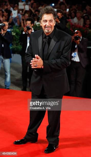 Al Pacino attends 'The Humbling' premiere during the 71st Venice Film Festival on August 30 2014 in Venice Italy